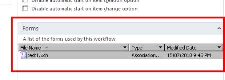 SharePoint Designer - InfoPath Form